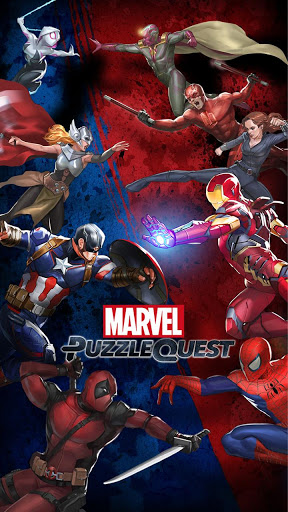 Скачать Marvel Puzzle Quest Dark Reign на андроид