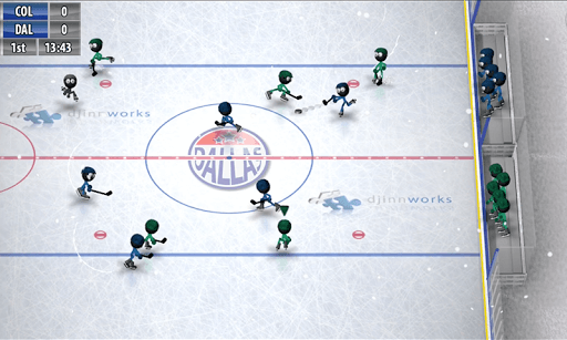 Скачать Stickman Ice Hockey на андроид