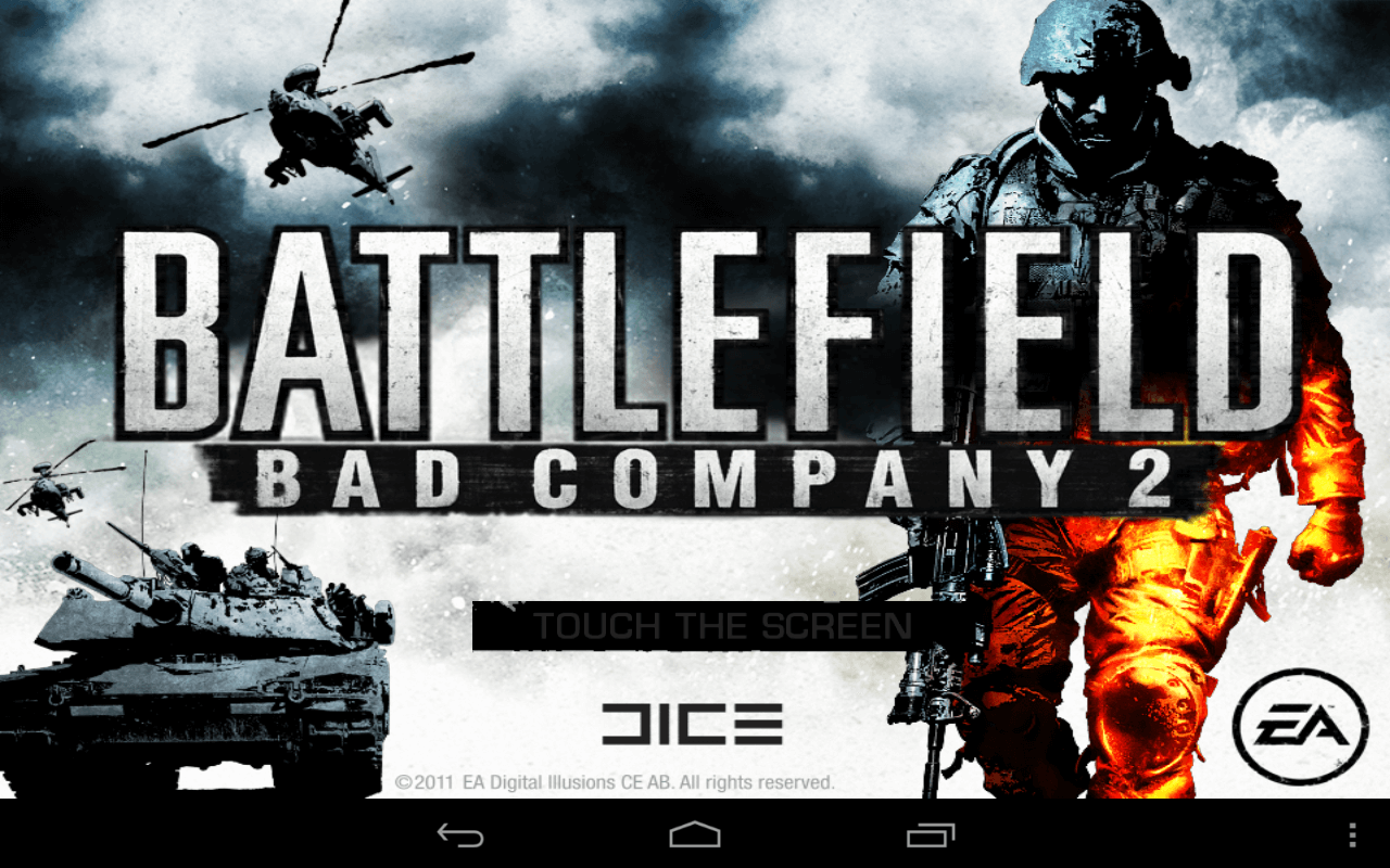Скачать Battlefield: Bad Company 2 на андроид